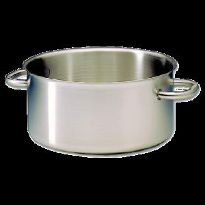 Low Casserole Stainless Steel